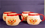 4 Howard Holt Elf Mugs/cups 1967