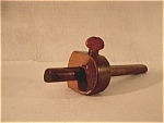 Vintage Wooden Scribe Wood Screw