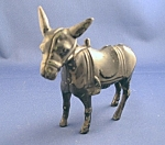 Antique Cast Iron Donkey Still Bank