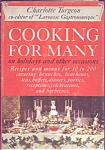 Cooking For Many By Charlotte Turgeon