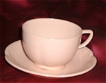 Johnson Brothers Rosedawn Flat Cup & Saucer