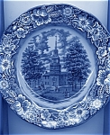 Liberty Blue Dinner Plate