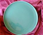 Large Poppytrail Metlox Platter In Teal