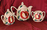 Purinton Apple Tea Set