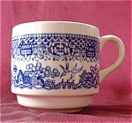 Royal China Blue Willow Cup
