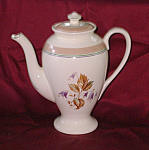 Stubenville Ivory Coffee Pot With Bluebells