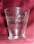 Laurel Monogahela Cut Glass Cocktail/sherry