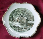 Currier & Ives Winter Homestead Wall Plate