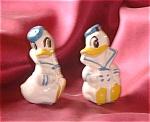 Vintage Donald Duck Salt & Pepper Shakers