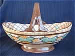 Royal Cauldon Edith Gater Art Deco Basket