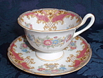 Shelley Gainsborough Pink Sheraton Tea Cup And Saucer
