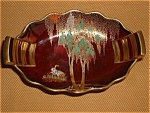 Carlton Ware Rouge Royal Art Deco Dish New Stork