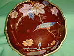 Carlton Ware Rouge Royale Kingfisher Bowl