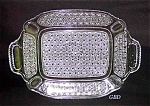 Eapg: Lrg Bread Tray: Finecut & Panel Bryce C 1880