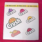 Orange Crush Soda Pop Promotional Notebook Advertising