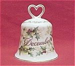 Golden Crown Bone China December Bell Holly & Wild Rose