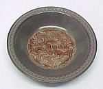 Aztec Flat Soup Bowl American Enterprises Stoneware New
