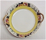 Early Noritake M Art Deco Handled Bowl Yellow Roses