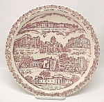 Vernon Kilns Collectors Plate Mason City Iowa Vintage