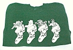Mcdonald's Christmas Stocking Sweatshirt Hanes Adult L