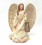 Roman Seraphim Angel Sea Goddess Shells 7.5 In Figurine