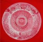 Duncan Miller Elegant Depression Glass Sandwich Platter