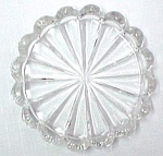 Heisey Crystolite Coaster Elegant Depression Glass Mint