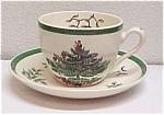 Spode Christmas Tree Cup & Saucer Holiday