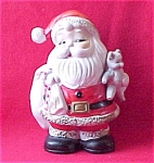 Homco Santa Coin Bank Home Interiors Teddy Bear Toys