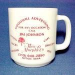 Thom D Murphy Co Coffee Mug Cup Tipton Ia Iowa Vintage