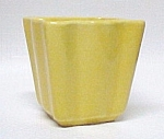 Carmark Pottery Miniature Flower Pot Yellow #402 Vase