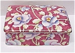 Royal Winton Grimwades Chintz Candy Cigarette Jewel Box June Festival