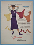 1951 Jantzen Sweaters, Skirts & Sox With Woman