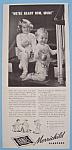 Vintage Ad: 1943 Hanes Merrichild Sleepers