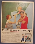1958 Dutch Boy Nalplex Paint W/little Boy On Man's Neck