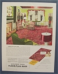 1940 Alexander Smith Floor - Plan Rugs