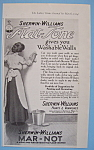 Vintage Ad: 1914 Sherwin - Williams Mar-not