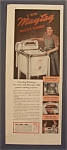 Vintage Ad: 1940 Maytag Master Washer