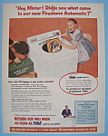 Vintage Ad: 1955 Firestone Automatic Washer