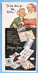 Vintage Ad: 1950 Morgan Jones Kitchen Towels