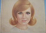 1966 Breck Shampoo With Lovely Red Haired Woman