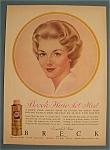 Vintage Ad: 1961 Breck Hair Set Mist