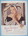 Vintage Ad: 1949 Revlon Plumb Beautiful