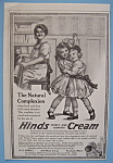 Vintage Ad: 1914 Hinds Honey & Almond Cream