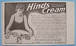Vintage Ad: 1919 Hinds Honey & Almond Cream