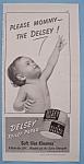 Vintage Ad: 1940 Delsey Toilet Paper