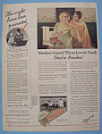 1926 Colgate Ribbon Dental Cream W/women & Colgate