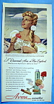 Vintage Ad: 1949 Avon Cosmetics W/ Mrs. John Lodge