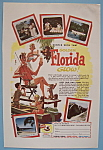 Vintage Ad: 1955 Golden Florida Glow
