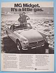 Vintage Ad: 1974 Mg Midget